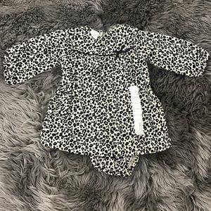 Little Wonders | Girls 2 Piece Dress Set | Cheetah